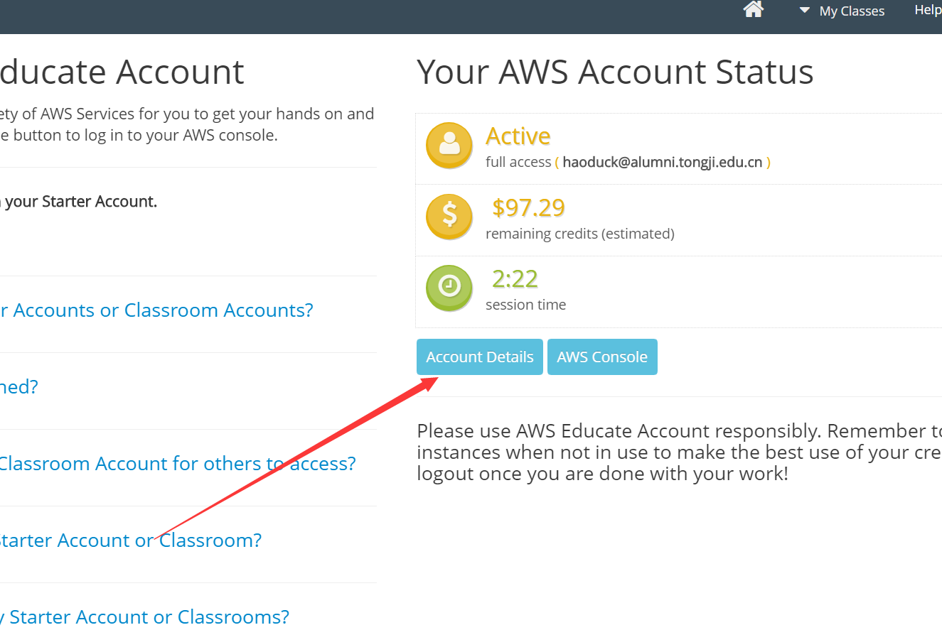 AWS Educate Starter Account(教育AWS)使用CloudFront(CDN)上传SSL证书
