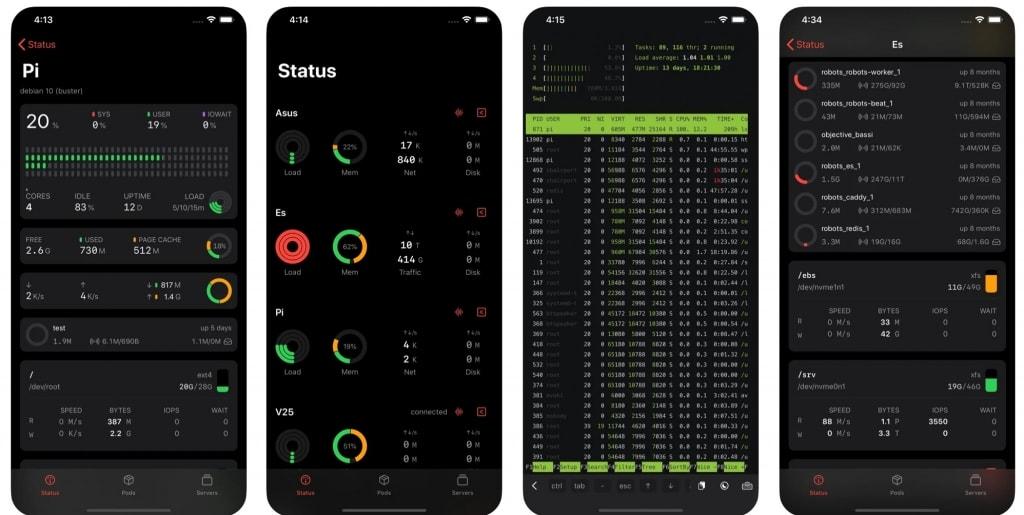 iOS SSH客户端 ServerCat